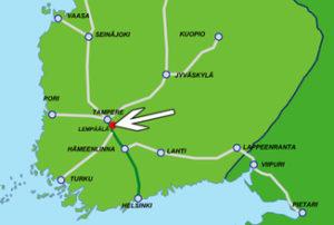 Lempäälän Kehitys Oy:n sijainti kartalla
