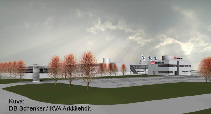 DB Schenker Lempäälän uusi terminaali